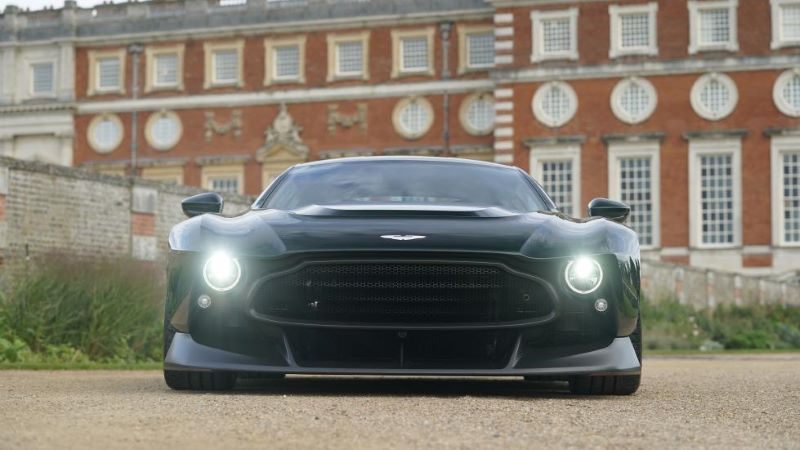 Aston Martin Victor เกียร์ Manual 836 แรงม้า