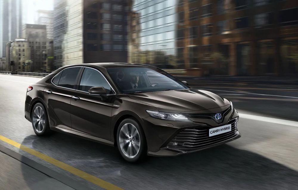 2018 Toyota Camry Hybrid ลุยตลาดยุโรปอีกครั้ง
