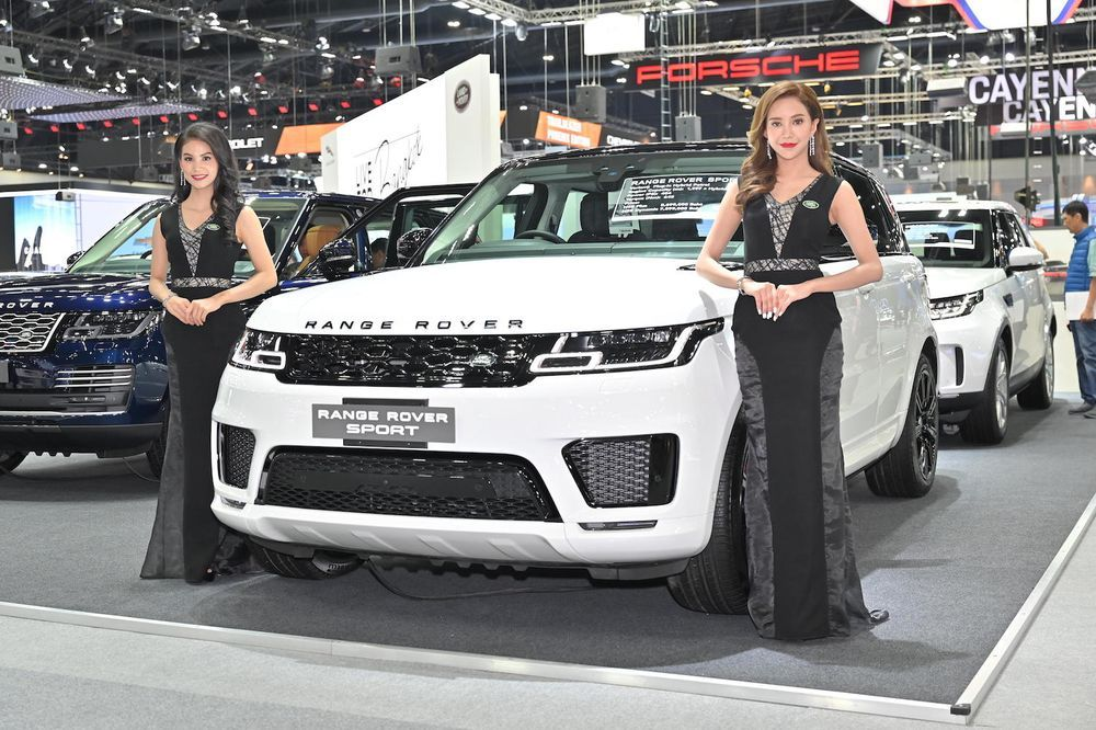 new range rover evoque 2019 ราคา