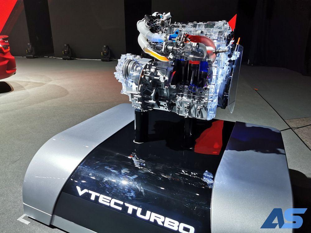 เครื่องยนต์ 1.0 ลิตร DOHC VTEC TURBO