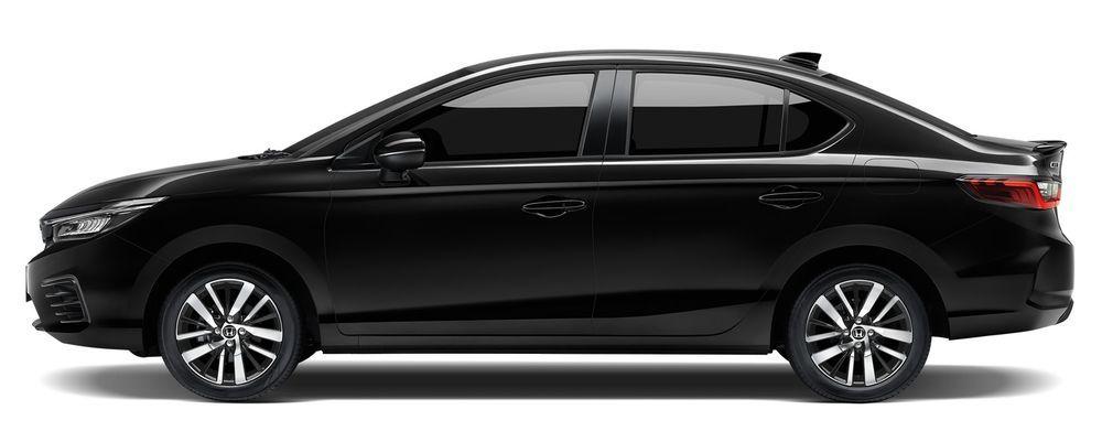 Honda City Hybrid e:HEV 2021 สีดำคริสตัล