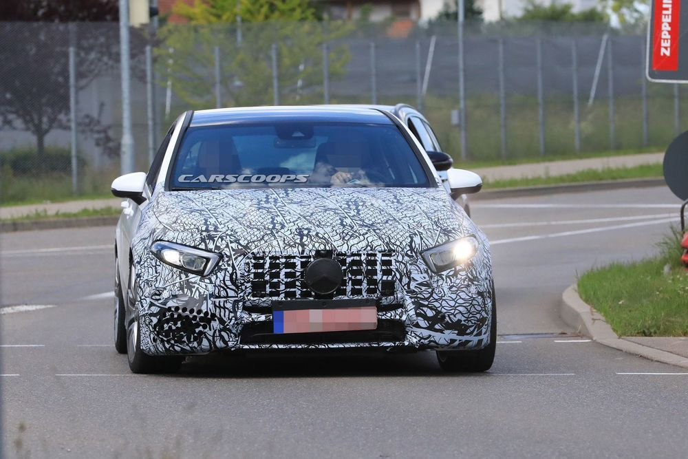 2019 Mercedes-AMG A50 อวดโฉมเพิ่ม