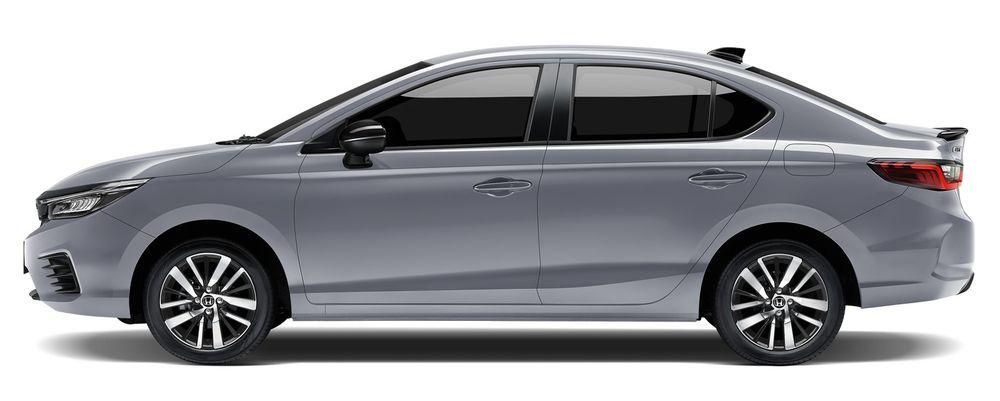 Honda City Hybrid e:HEV 2021 สีเงินลูนาร์
