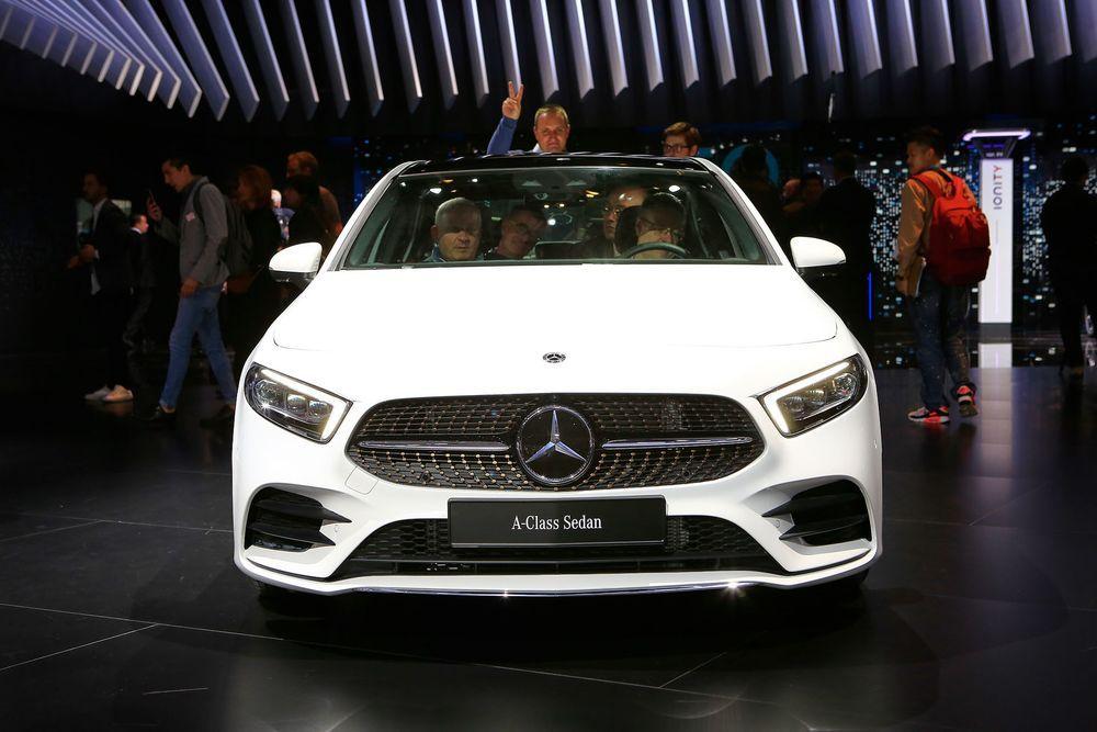 2019 Mercedes A Class Sedan