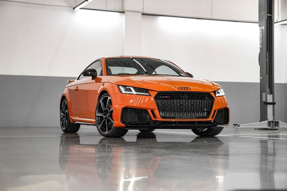 The New Audi TT RS Coupe 400 แรงม้า