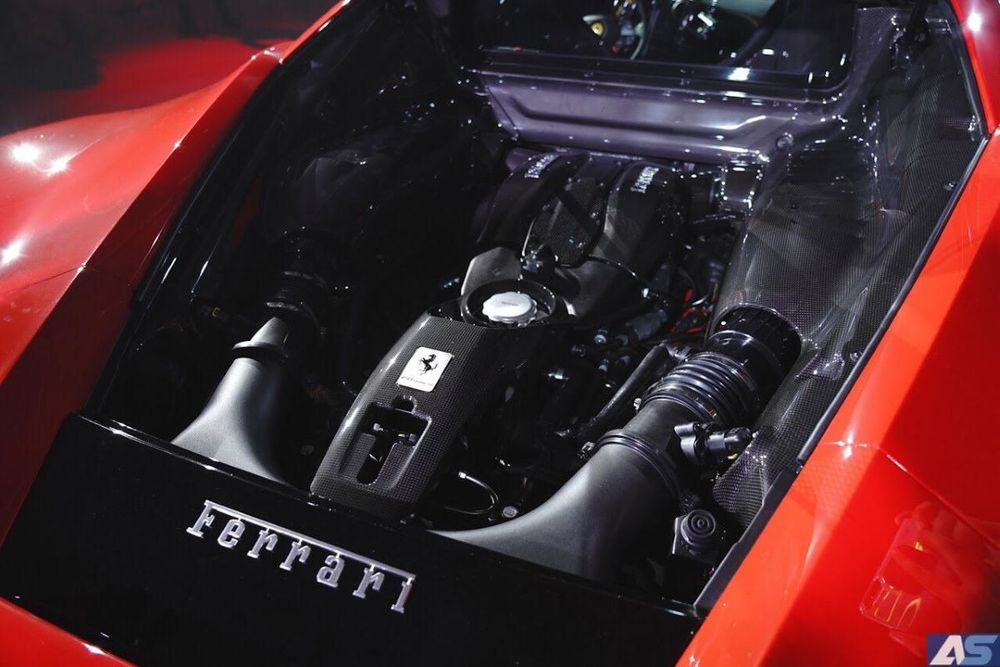 เครื่องยนต์ F8 Tributo