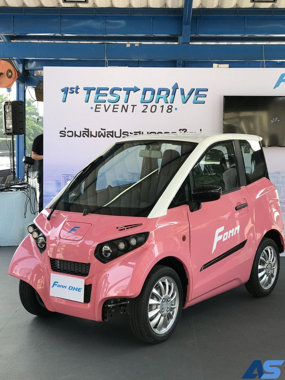 Choose an EV electric car at the Motorcycle 2019, officially