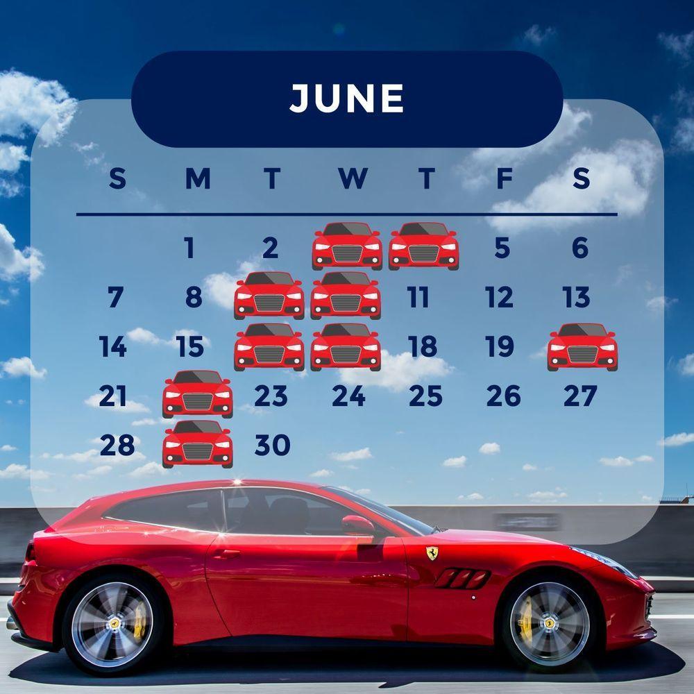 ฤกษ์ออกรถ 2563 เดือนมิถุนายน ออกรถวันไหนดี