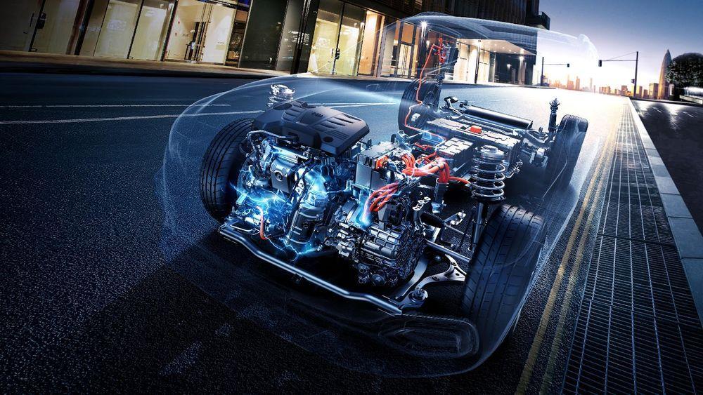 เครื่องยนต์ MG HSPlug-in Hybrid