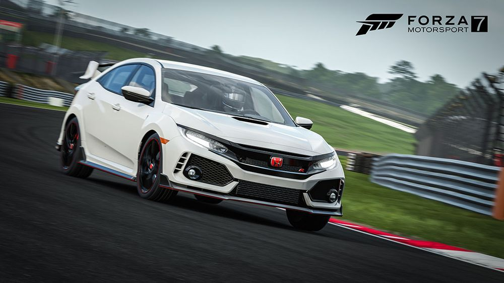 Honda Civic Type R ใน Forza Motorsport 7