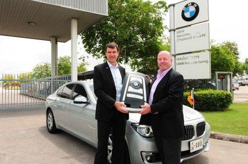 BMW 7Series to German Ambassador