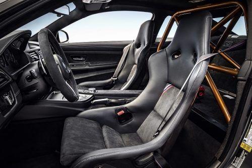 BMW M4 GTS เบาะนั่ง
