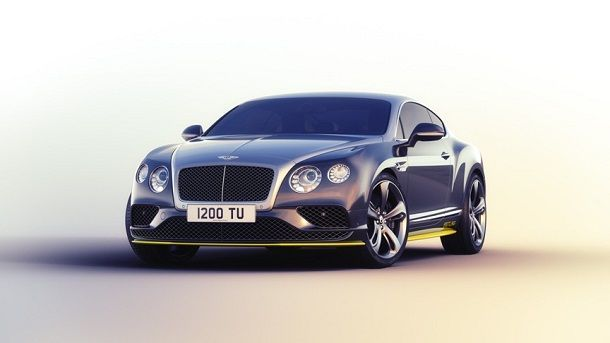 Bentley Continental GT Speed Breitling Jet Team Series Limited Edition re2