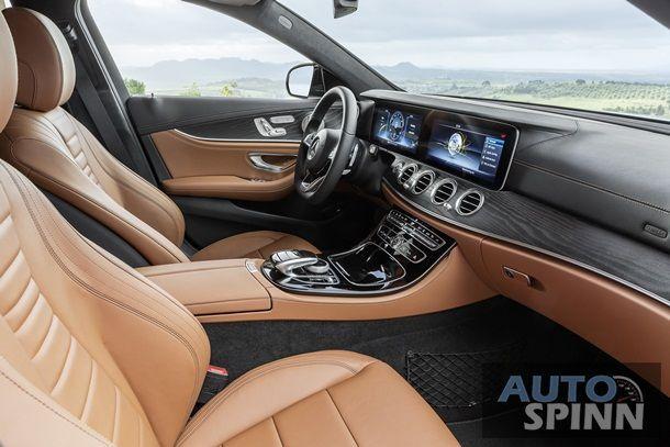 Mercedes-Benz E-Klasse T-Modell, 2016, Exterieur: AMG Line, diamantsilber, Interieur: sattelbraun / schwarz ; Mercedes-Benz E-Class Estate, 2016, Exterior: AMG line, diamond silver, interior: saddle brown / black;