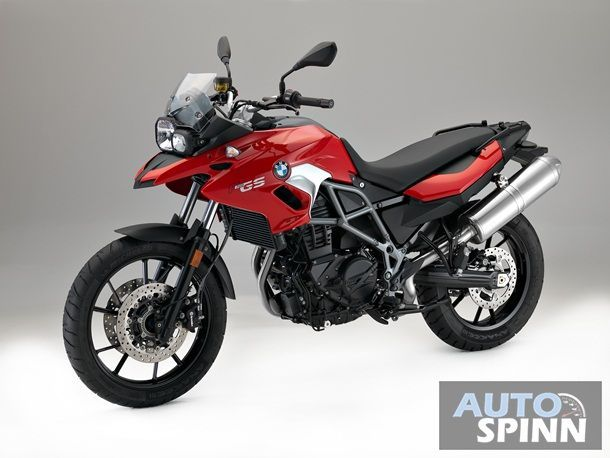 F700 GS Racing Red