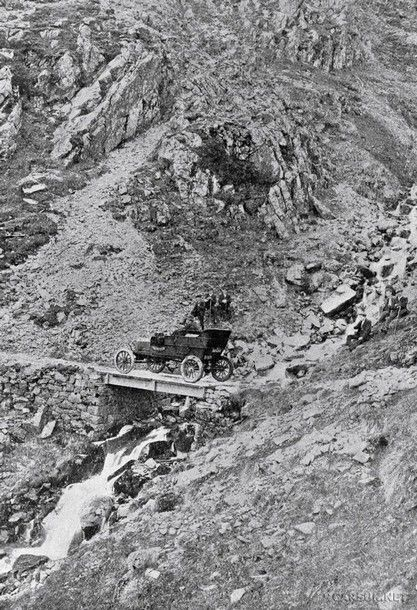 Henry Alexander tackiling the UK's highest mountain, Ben Nevis, in a Ford Model T