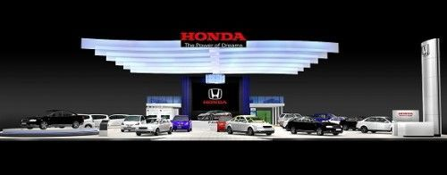 Honda Booth-Motor Expo-Perspective