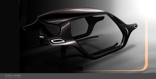 Hyundai Intrado Frame Desgin