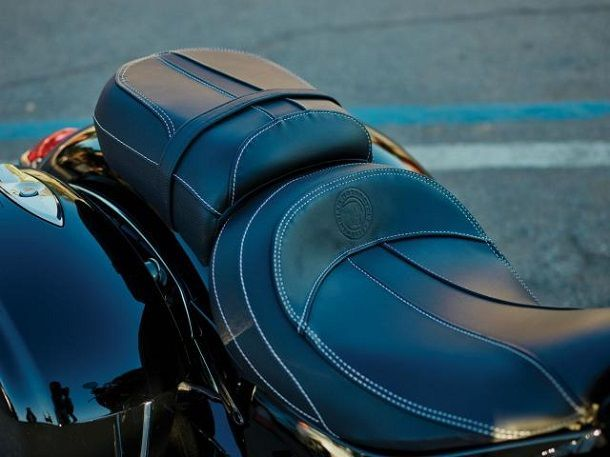 Indian Chieftain Limited seat