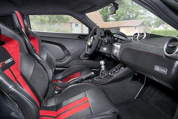 ภายใน Lotus Evora GT430