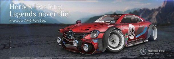 Mercedes 350 SE Study - 7