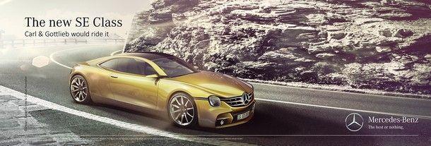 Mercedes 350 SE study -