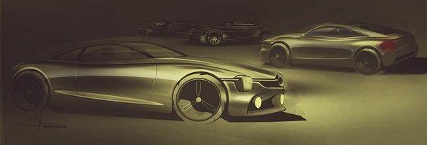 Mercedes 350 SE study - 4