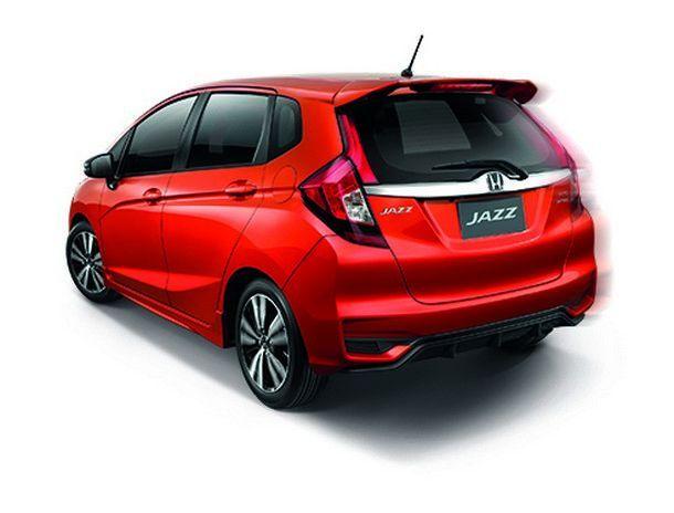 New Honda Jazz_Back