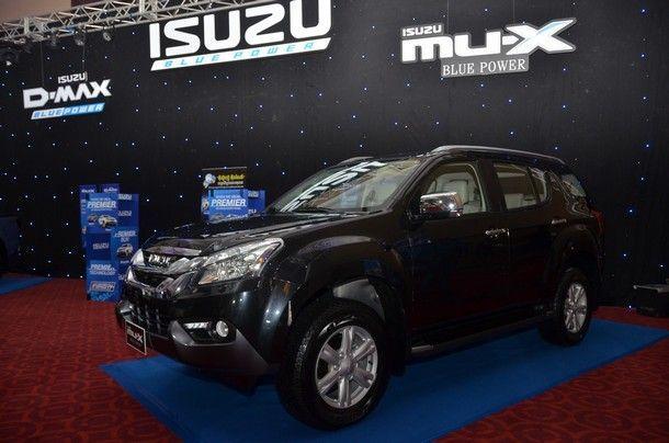 New Isuzu MU-X
