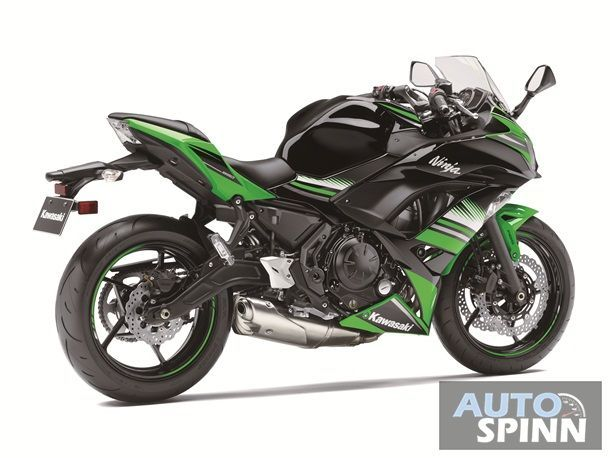 Ninja 650 Green 3