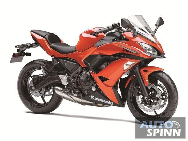 Ninja 650 Orange 3