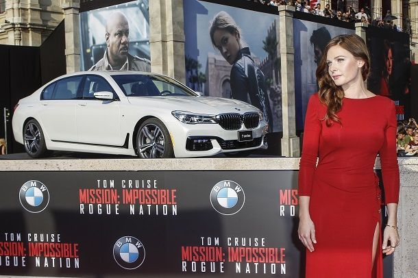 BMW At The 'Mission: Impossible - Rogue Nation' World Premiere