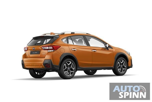 Subaru XV 2.0i-S (Back) - Sunshine Orange