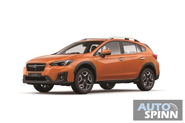 Subaru XV 2.0i-S (Front) - Sunshine Orange