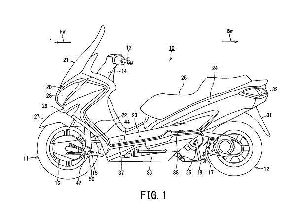Suzuki-Burgman-2WD-patent-01