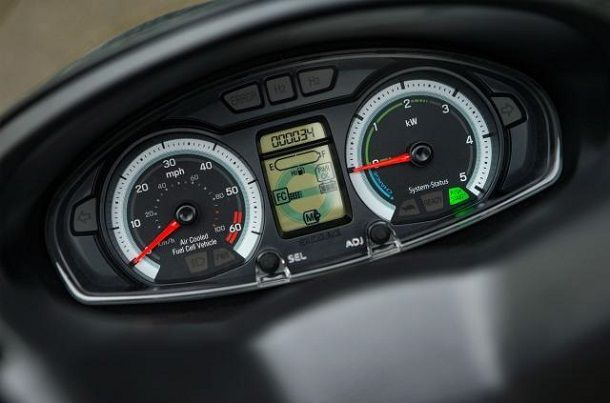 Suzuki Burgman Fuel Cell clocks
