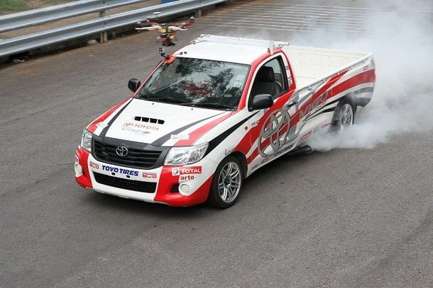 Toyota Motorsport 2014_Drift show