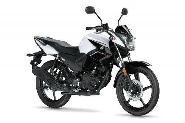 Yamaha YS125 white