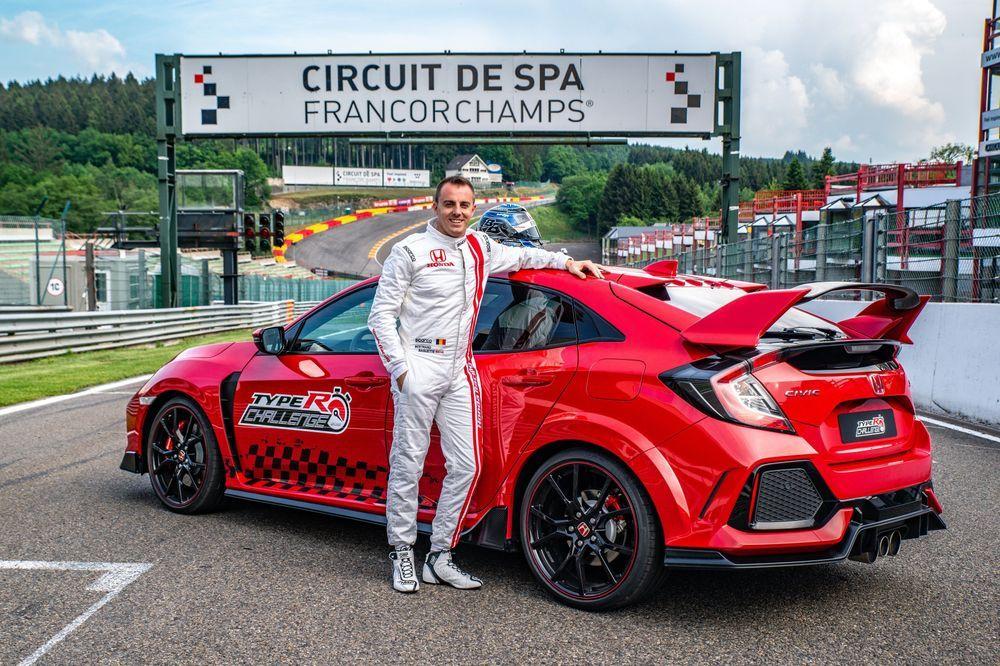 ็Honda Civic Type R สร้างสถิติใหม่ที่สนาม Spa-Francorchamps