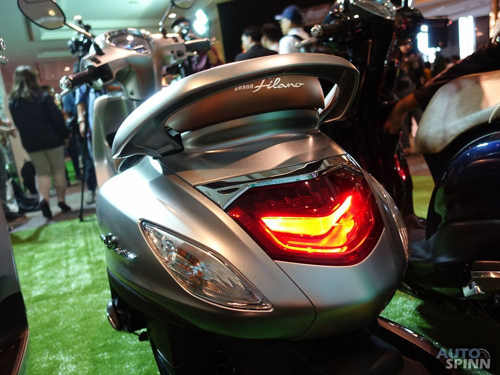 ไฟท้าย ด้านการออกแบบYamaha Grand Filano Hybrid