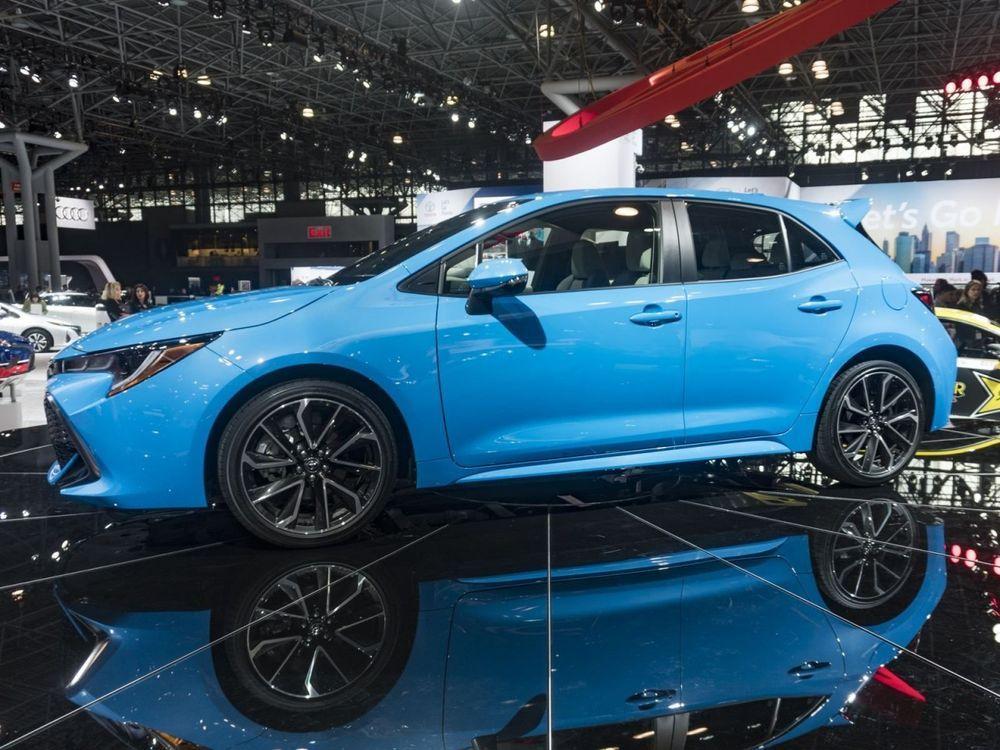 ชมภาพคันจริง All New Toyota Corolla Hatchback