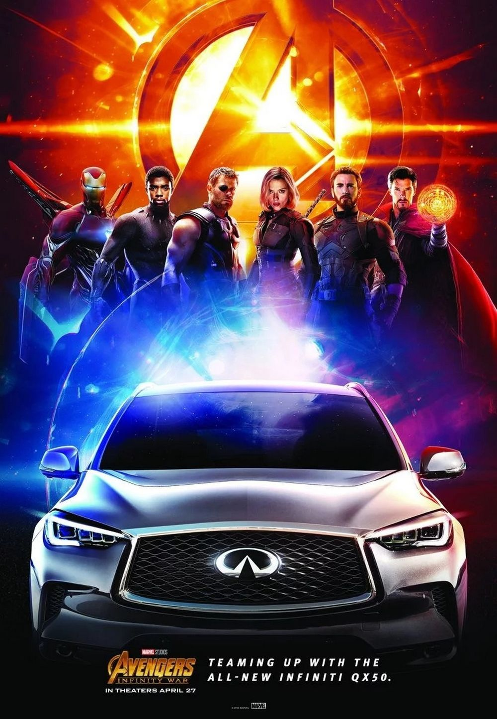 Avengers ภาค Infinity War