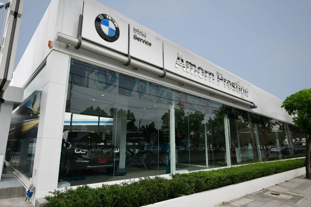 อมร เพรสทีจ เปิดตัว BMW Service Only Outlet ศูนย์บริการครบวงจร