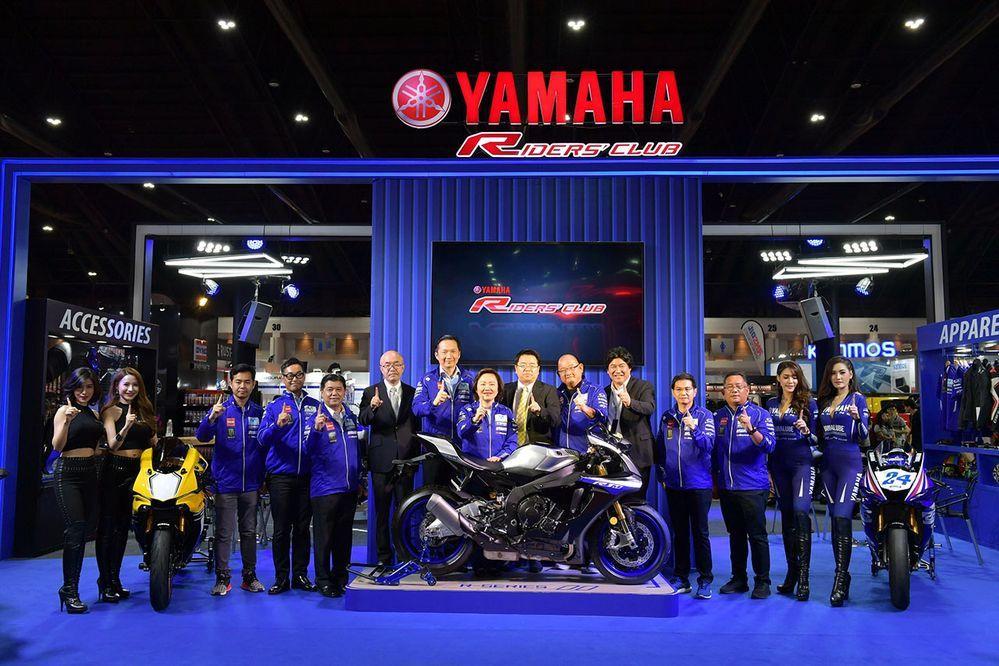 Yamaha ขนทัพบิ๊กไบค์สุดแรงตระกูล R-Series และ MT-Series บุก Auto Salon 2018