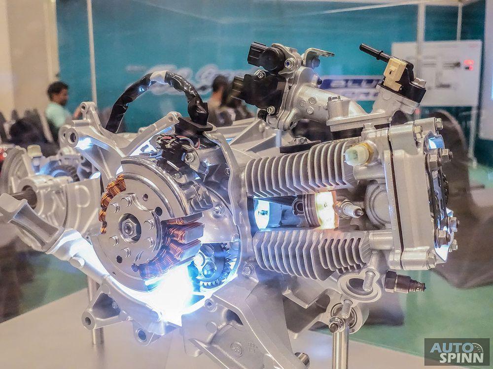 เครื่องยนต์Yamaha Grand Filano Hybrid