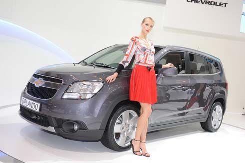 กระทบไหล่ All-New Chevrolet Orlando รถอเนกประสงค์ 7 ที่นั่งในงาน Paris Motor Show