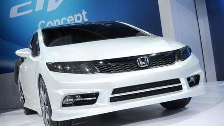 จัดมาอีก! คลิปวิดีโอ 2012 Honda Civic Concept ในงาน 2011 Detroit Auto Show