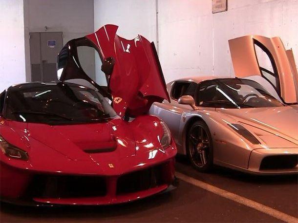 ความมันถือบังเกิด เมื่อ LaFerrari VS Enzo Ferrari ในรูปแบบการประชันเสียง  Rev Battle
