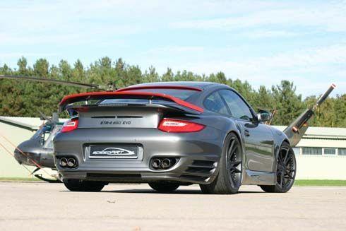 จาก Porsche 911 Turbo กลายเป็น speedART BTR-II 650 EVO รถแต่งกำลัง 641 แรงม้า
