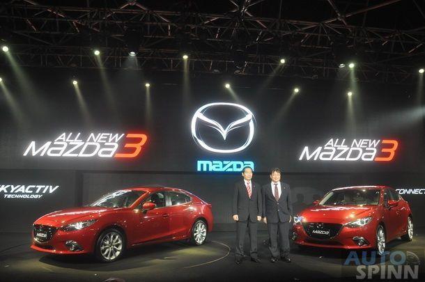 ชมภาพตัวเป็นๆ 2014 All New Mazda 3 E85 พร้อมทำความรู้จักกันแบบใกล้ชิด กับ มาสด้า 3 ใหม่